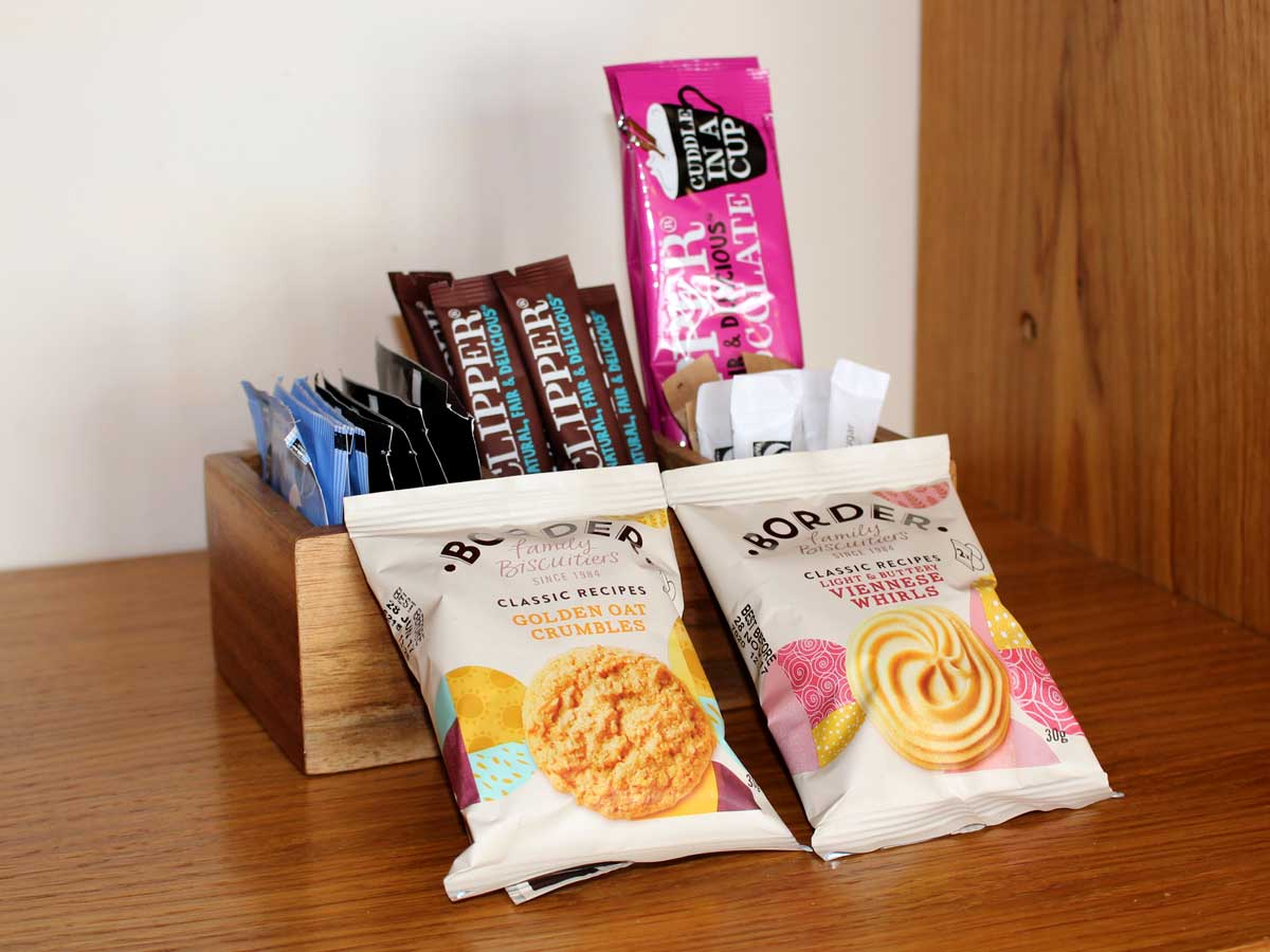 Apartment 2, The Landings, Filey, Lounge Welcome Pack