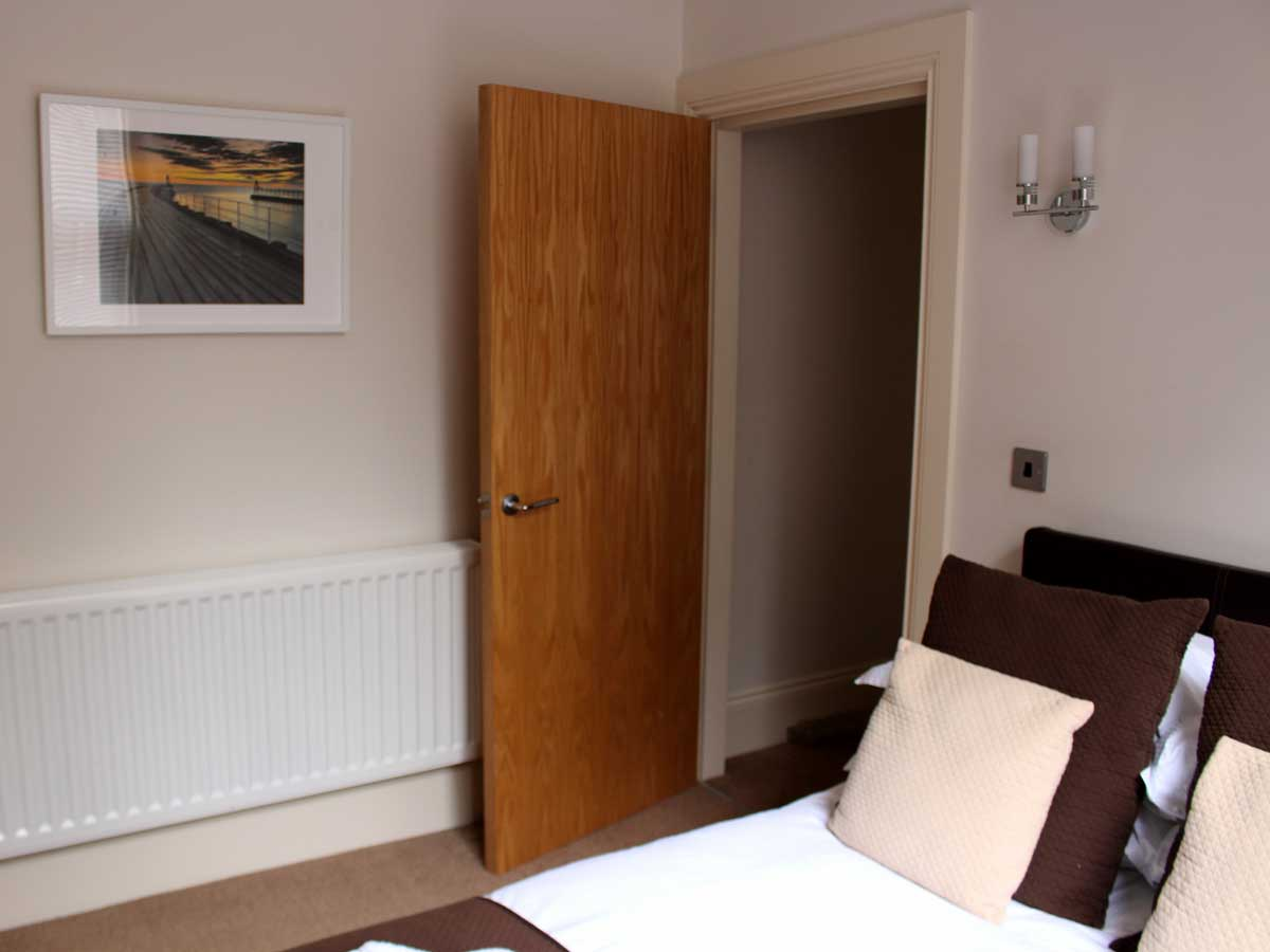 Apartment 2, The Landings, Filey, Double Bed 3
