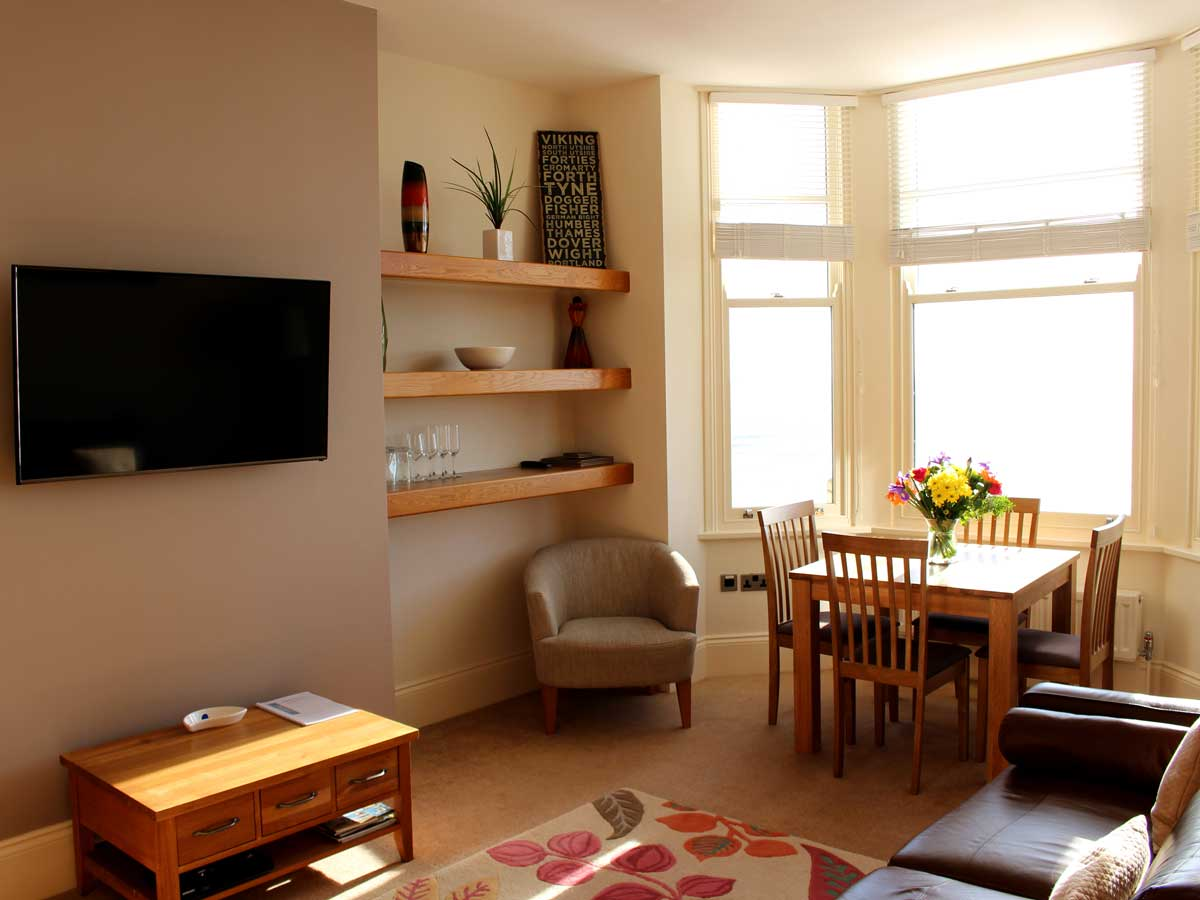 Apartment 2, The Landings, Filey, Lounge 8