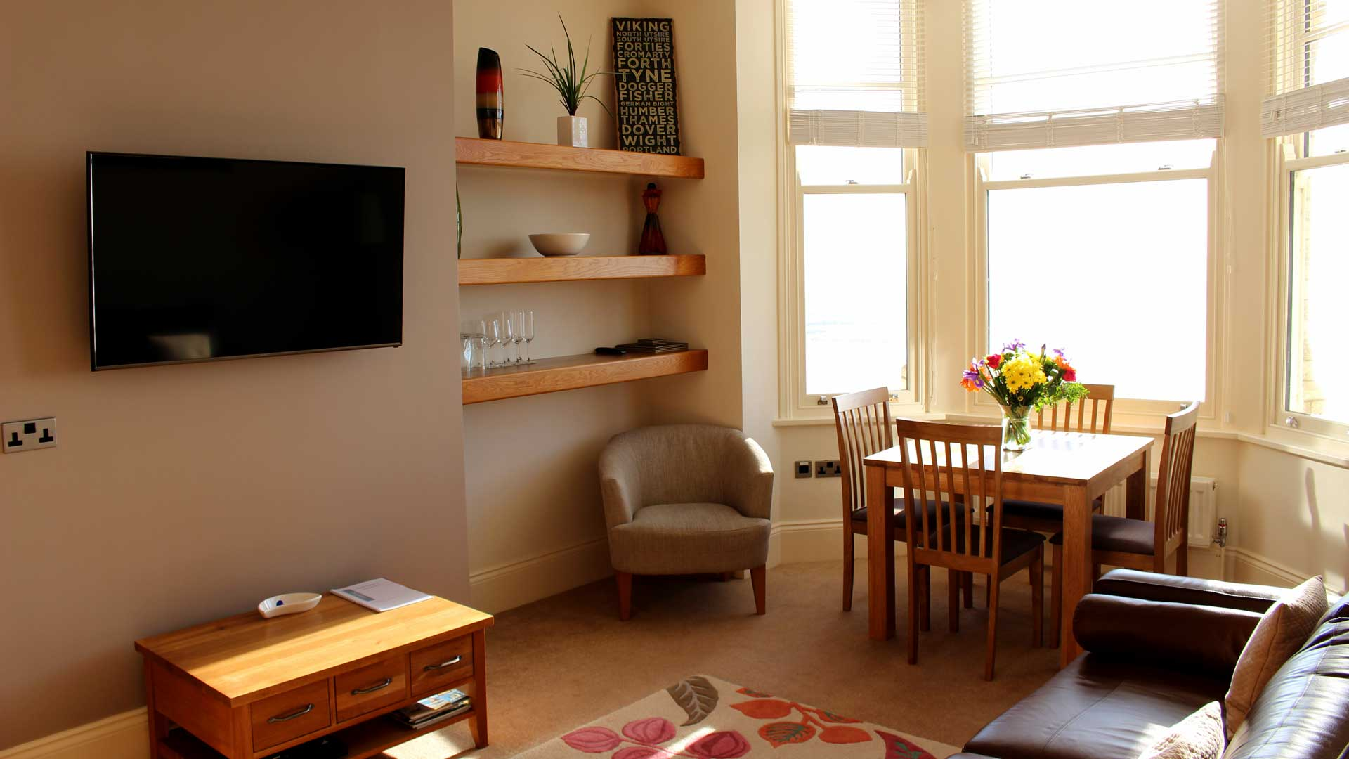 Apartment 2, The Landings, Filey, Lounge 9