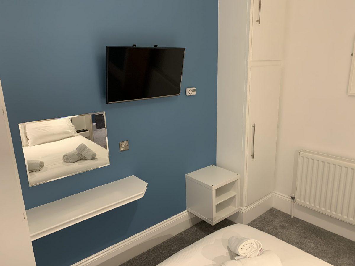 Double Bedroom TV