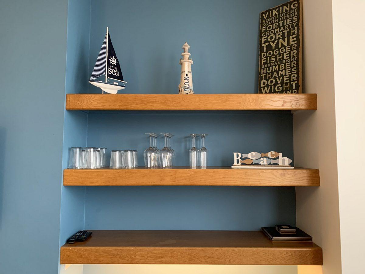 Lounge Shelves
